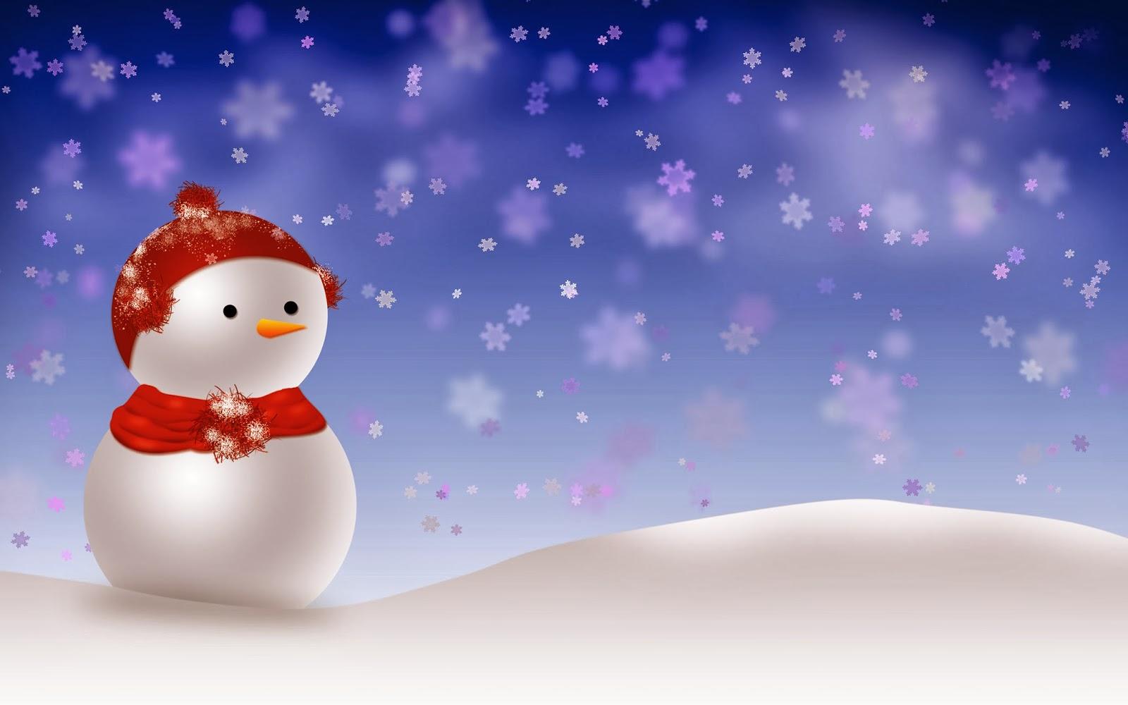 Desktop Backgrounds 4U Snowmen 1600x1000