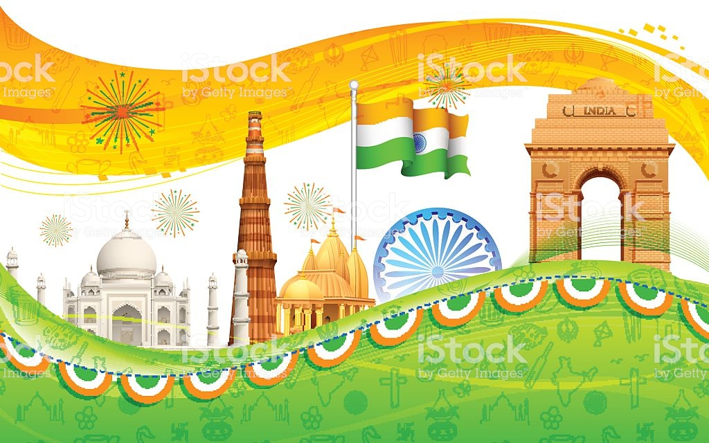 India Background Stock Illustration   Download Image Now   iStock 1024x640