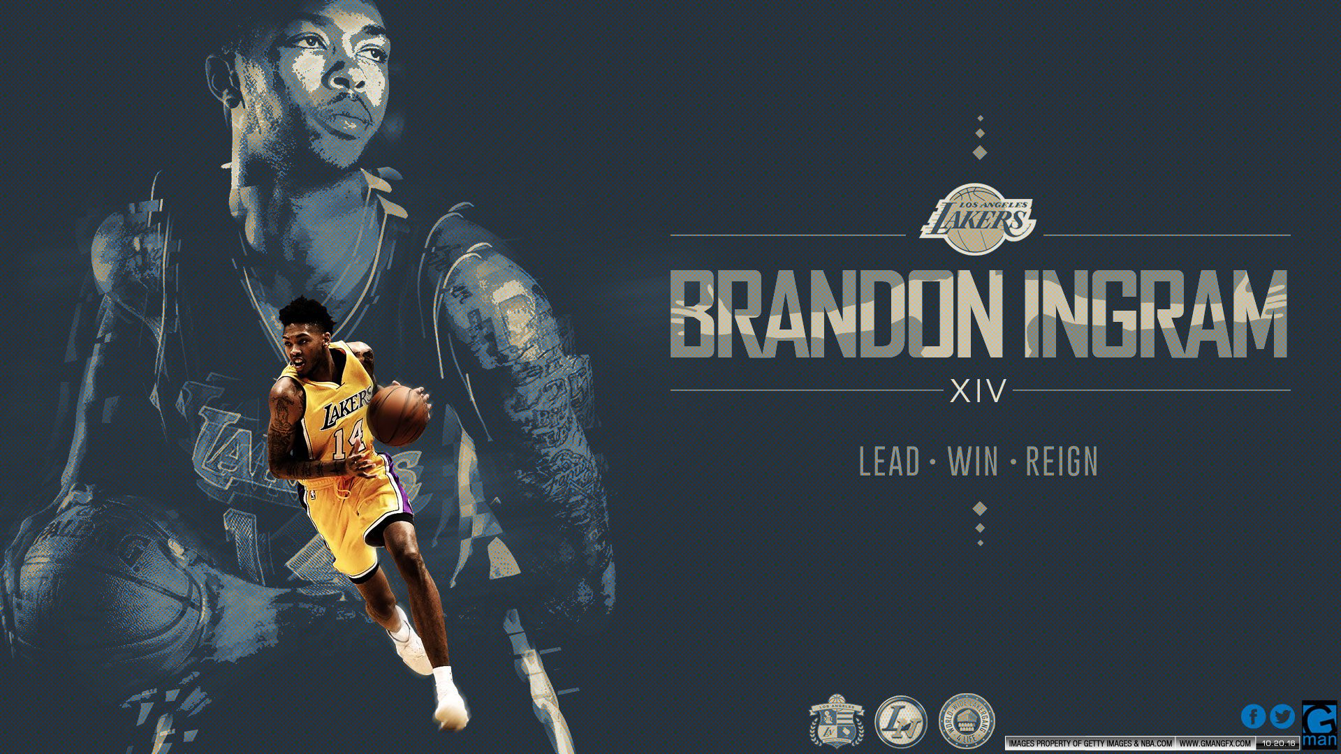 Brandon Ingram Lakers Wallpaper Wallpaper Nba wallpapers 1920x1080