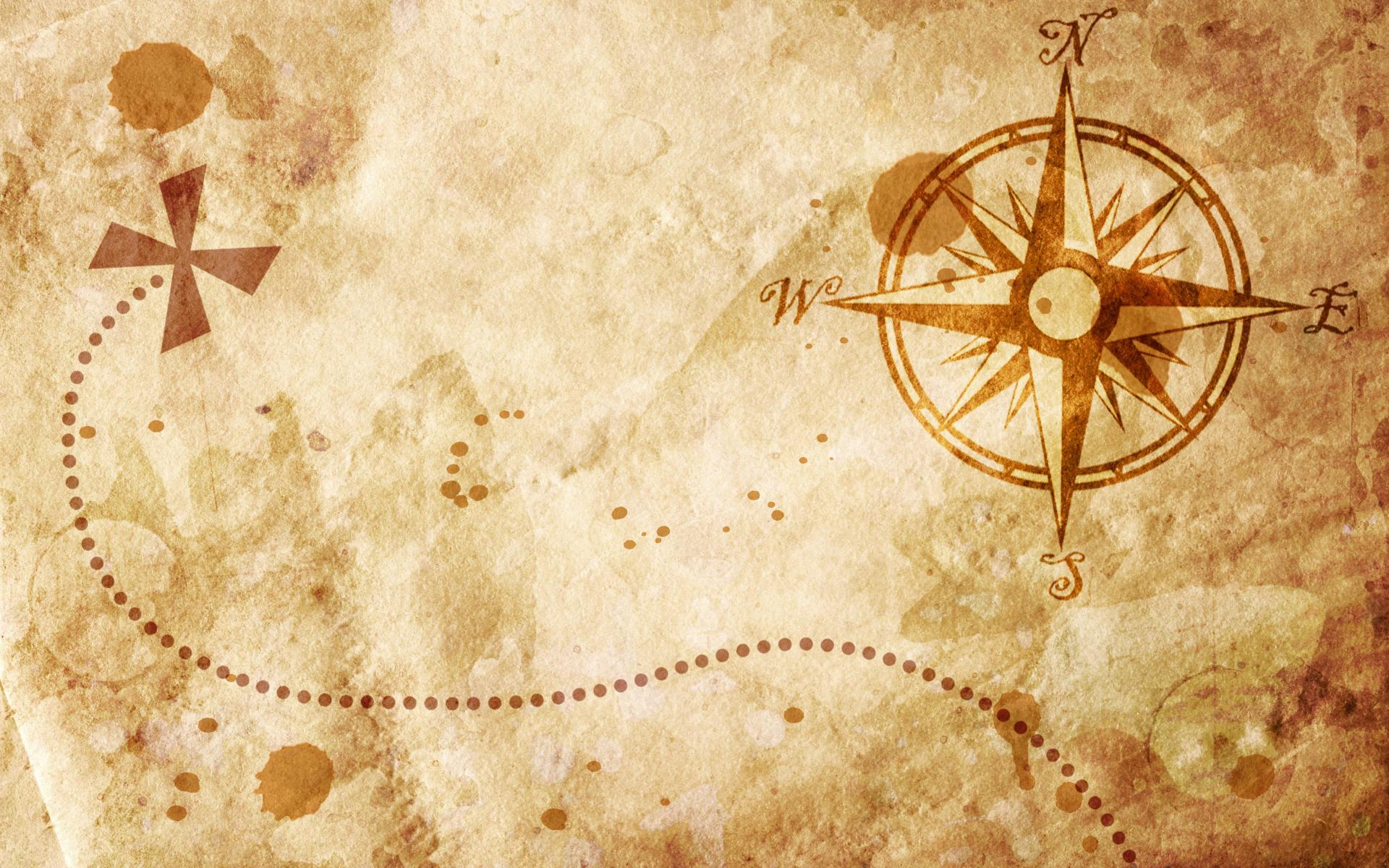Map and compass 107 Wallpapers 1920x1200