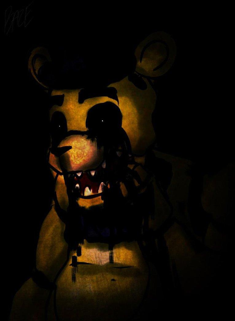 Golden Freddy by SilverBaze 766x1043