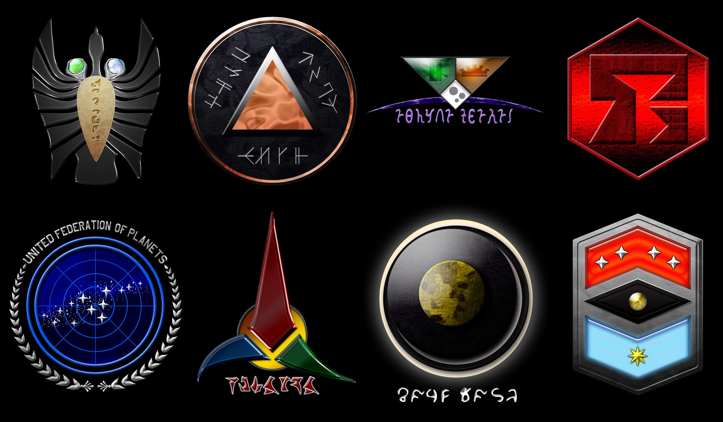 Pin Klingon Symbol Wallpaper Page 2 3 2400x1400