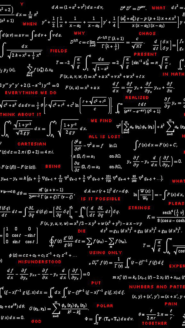 Physics Equations Wallpaper More Search 640x1136