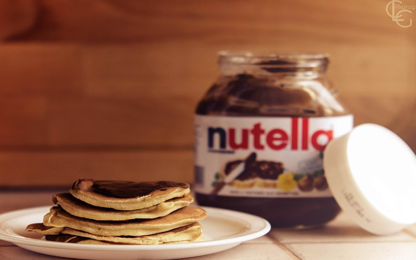 Pancakes and Nutella   Chocolate Wallpaper 38809398 1440x900