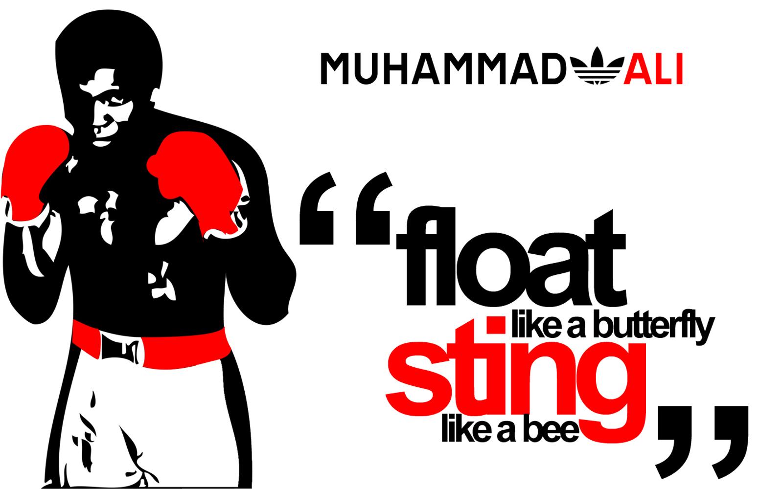 Muhammad Ali Quote Wallpaper Desktop Wallpaper with 1600x1000 1600x1000