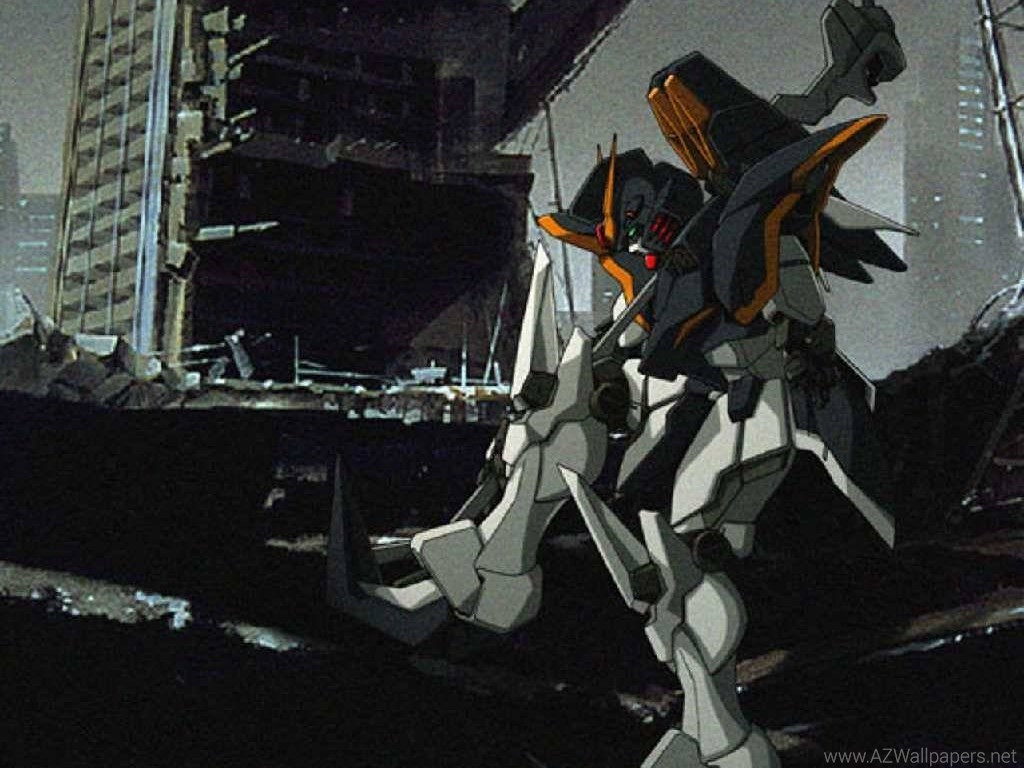 Gundam Deathscythe Wallpaper Wide at Movies Monodomo 1024x768