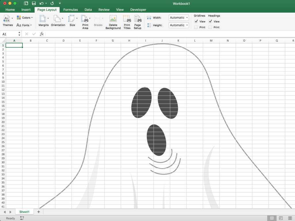 3 Ways to Make Your Spreadsheet Spooky   Spreadsheets Made Easy 1024x769