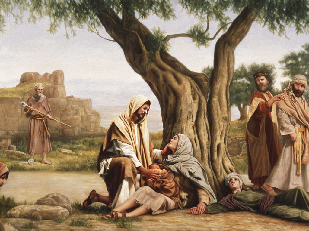 Jesus Christ Healing Lds Images Pictures   Becuo 1024x768