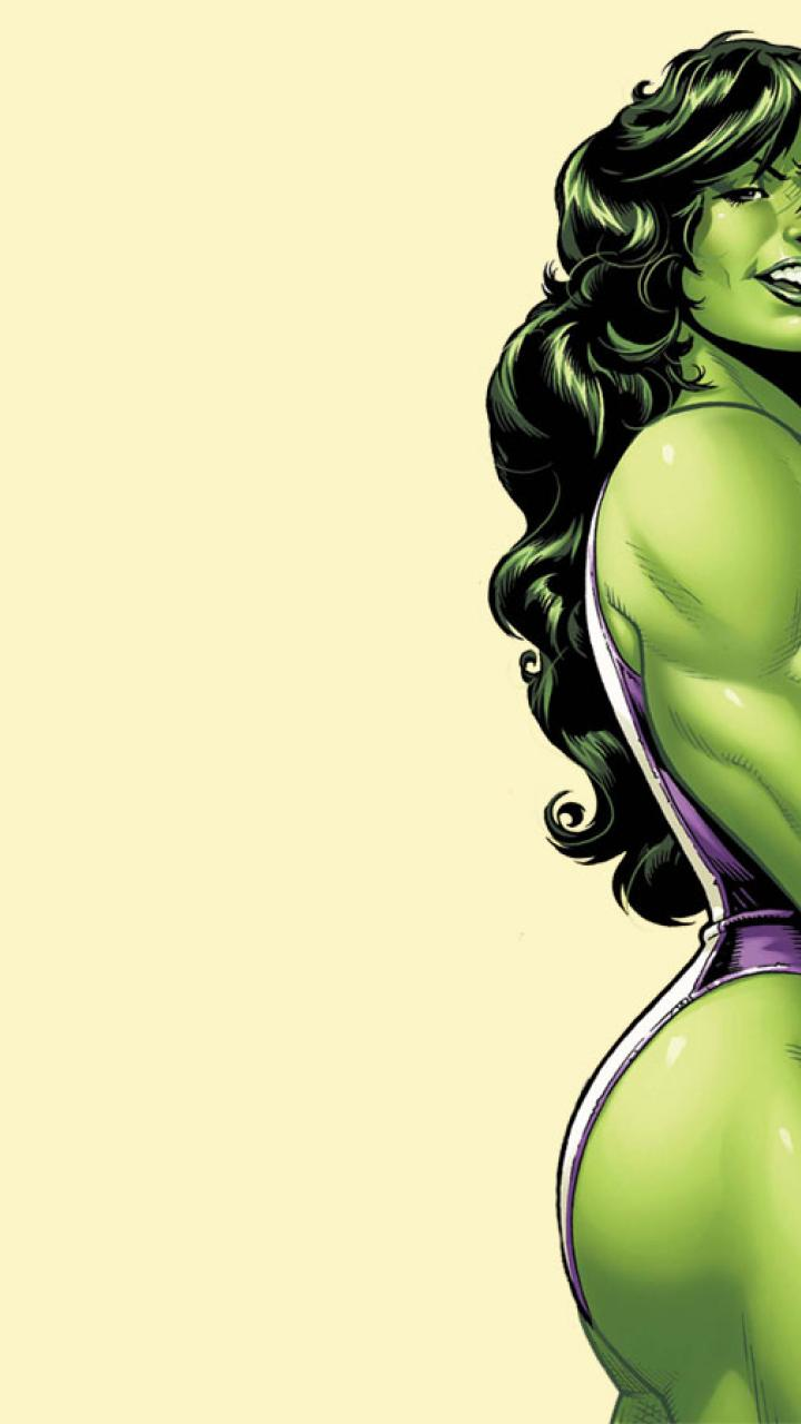 She Hulk Wallpaper Desktop 720x1280