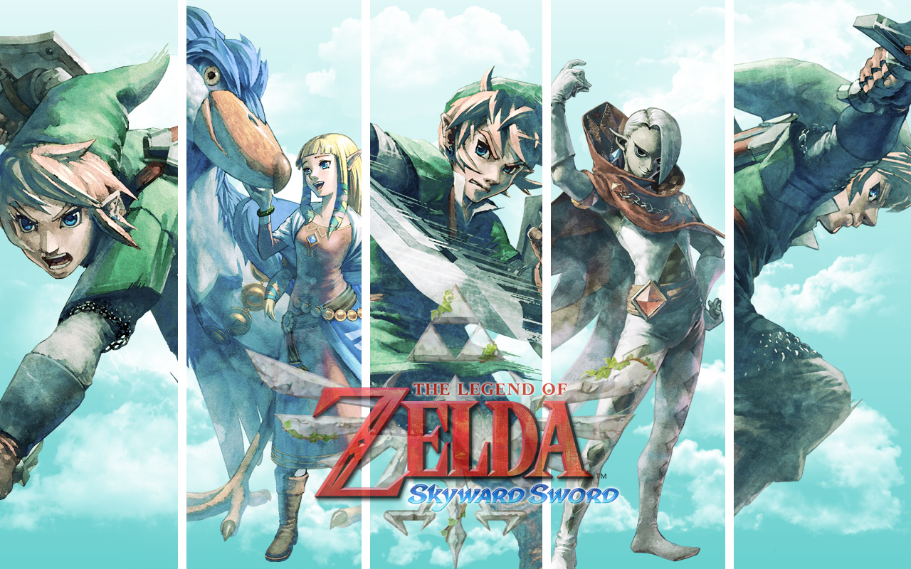 Free Download The Legend Of Zelda Skyward Sword Hd Wallpapers And