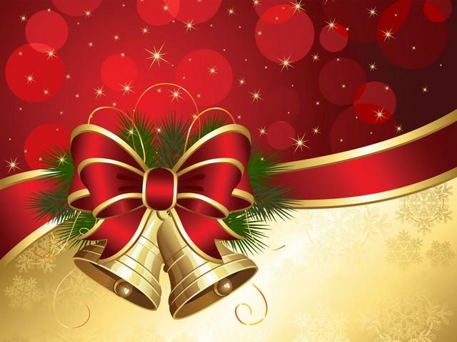 Free Download Christmas Bells Desktop Wallpaper Puzzles