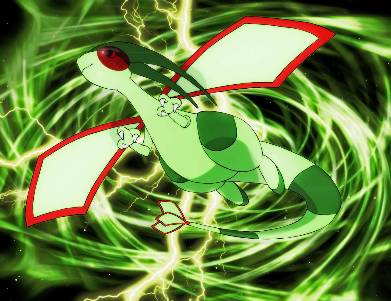Dragon Type Pokemons images Flygon WP HD wallpaper and background 1280x985