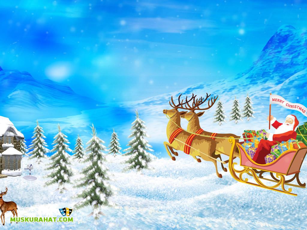 live christmas wallpaper for desktop   wwwwallpapers in hdcom 1024x768