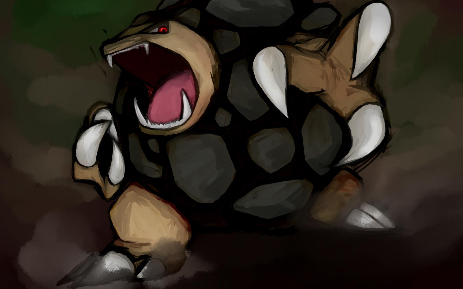 Pokemon Golem 1600x1000