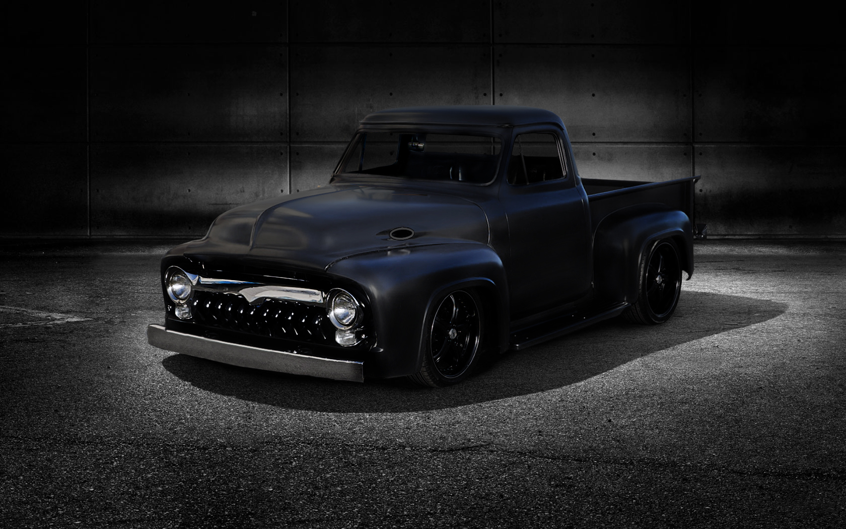 Classic Ford Truck Wallpaper Desktop Wallpaper with 1680x1050 1680x1050