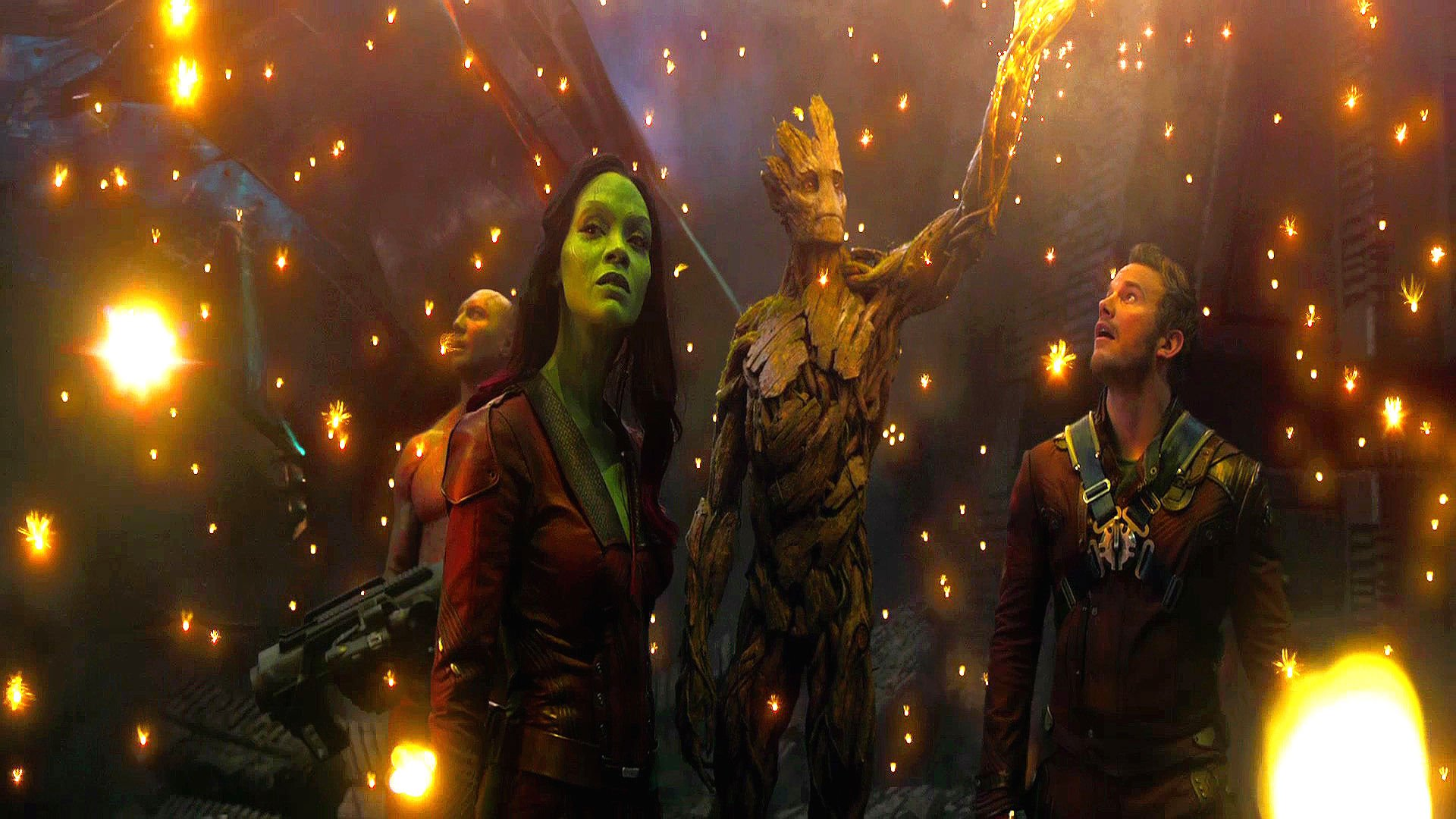 Sparkle Guardians Of The Galaxy Groot Wallpapers 1920x1080