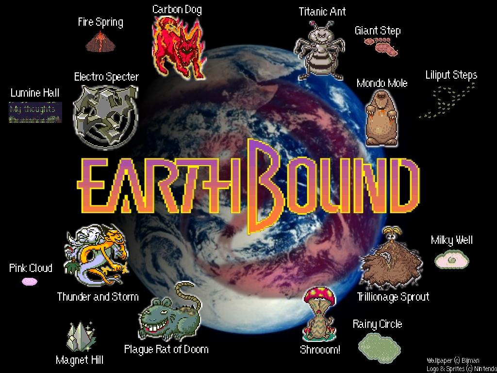EarthBound Wallpaper by Bijman 1024x768