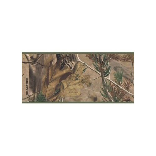 Realtree Camouflage Wallpaper Border Home Improvement 500x500