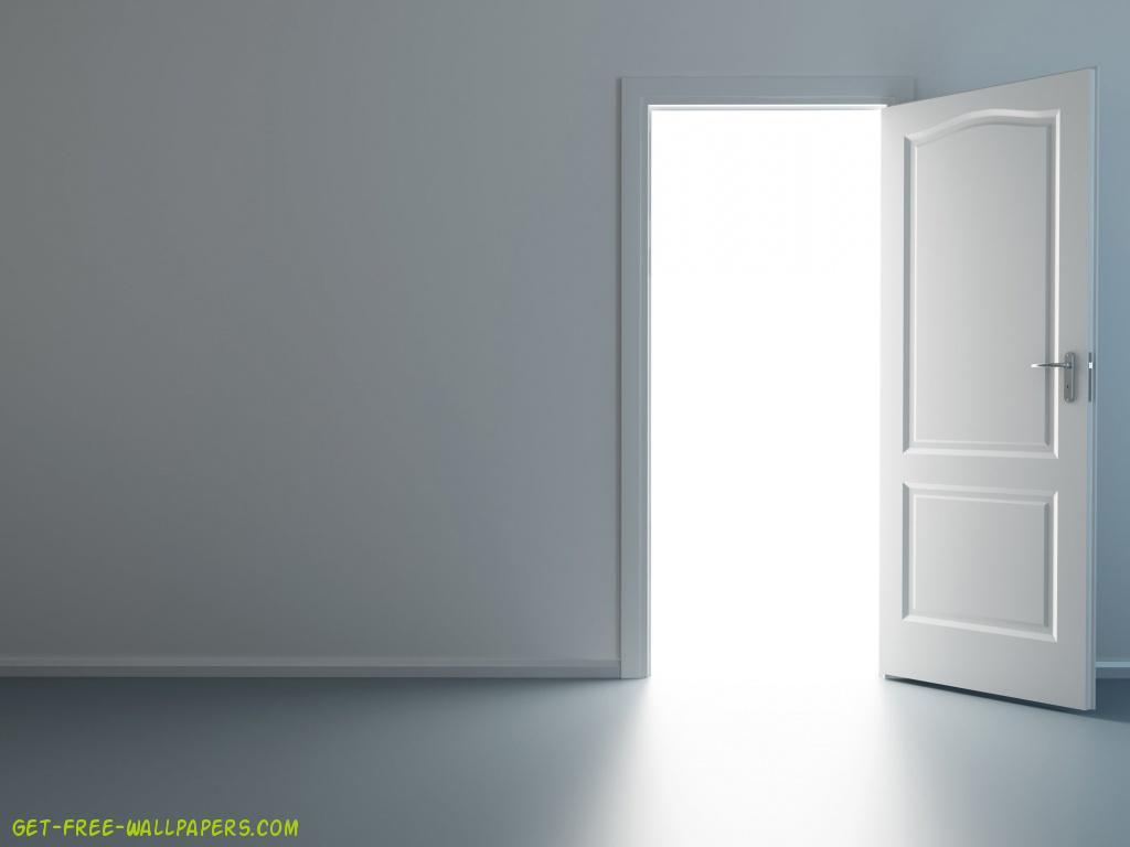 Open Door Wallpaper 1024x768