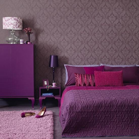 purple wallpaper for bedrooms 2015   Grasscloth Wallpaper 550x550