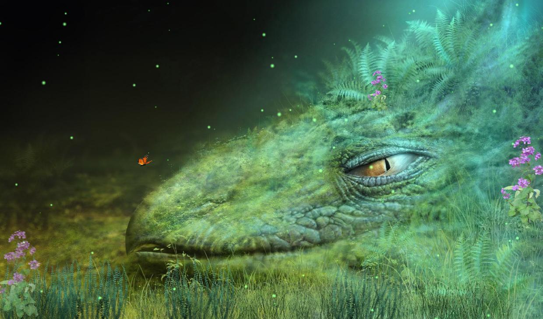 Download Fantasy Creature Screensaver 1240x730
