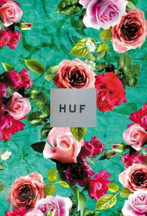 background flowers wallpaper huf pretty weed   image 2024878 by 500x735