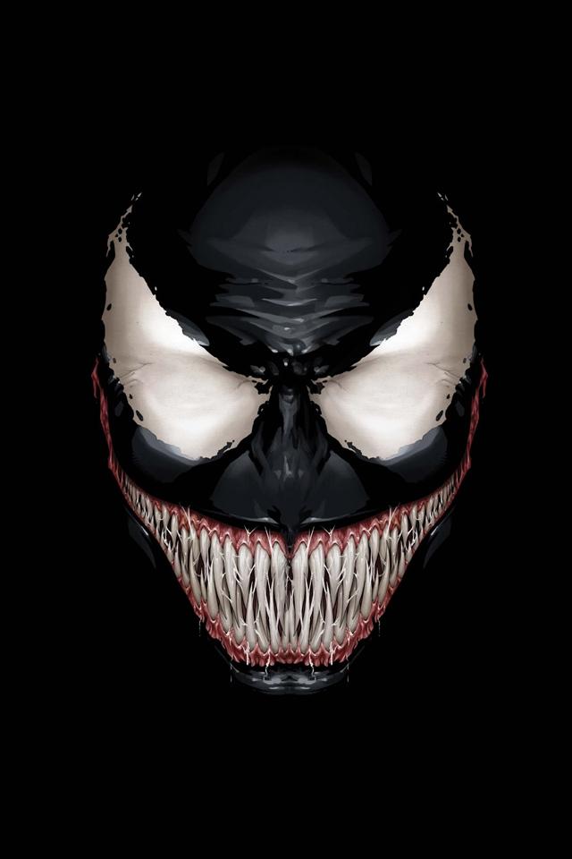 Marvel Venom hd Wallpaper Marvel Venom Iphone Wallpaper 640x960
