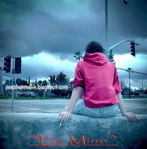 Sad Boy DP Zeeshan Maliks Official Blog 589x600