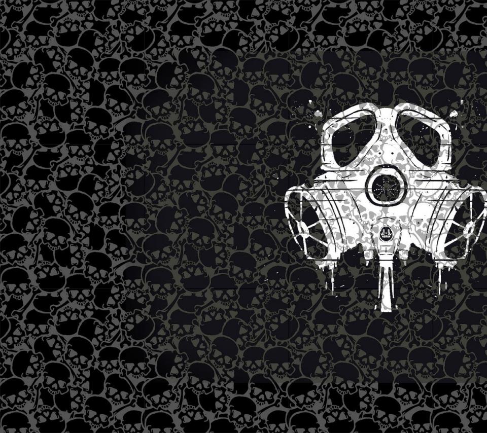 [39+] Skull Mask Wallpaper On WallpaperSafari