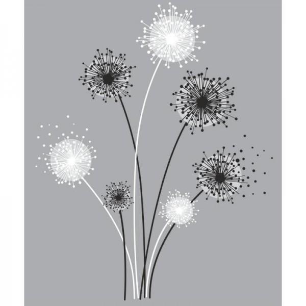 Graphic Dandelion Wallpaper Warehouse 600x600