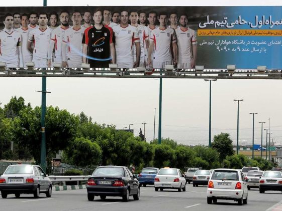 Once Elated Iran Cools World Cup Fervor   Football News 561x421