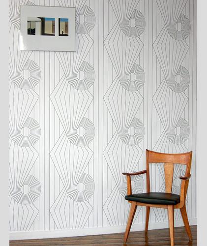 Modern wallpaper Black white geometric graphic Flickr   Photo 421x500