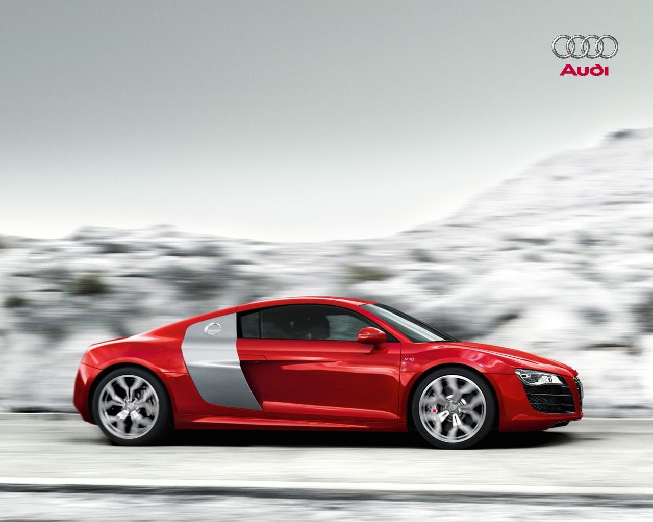 Audi r8 V10 Wallpaper images 1280x1024