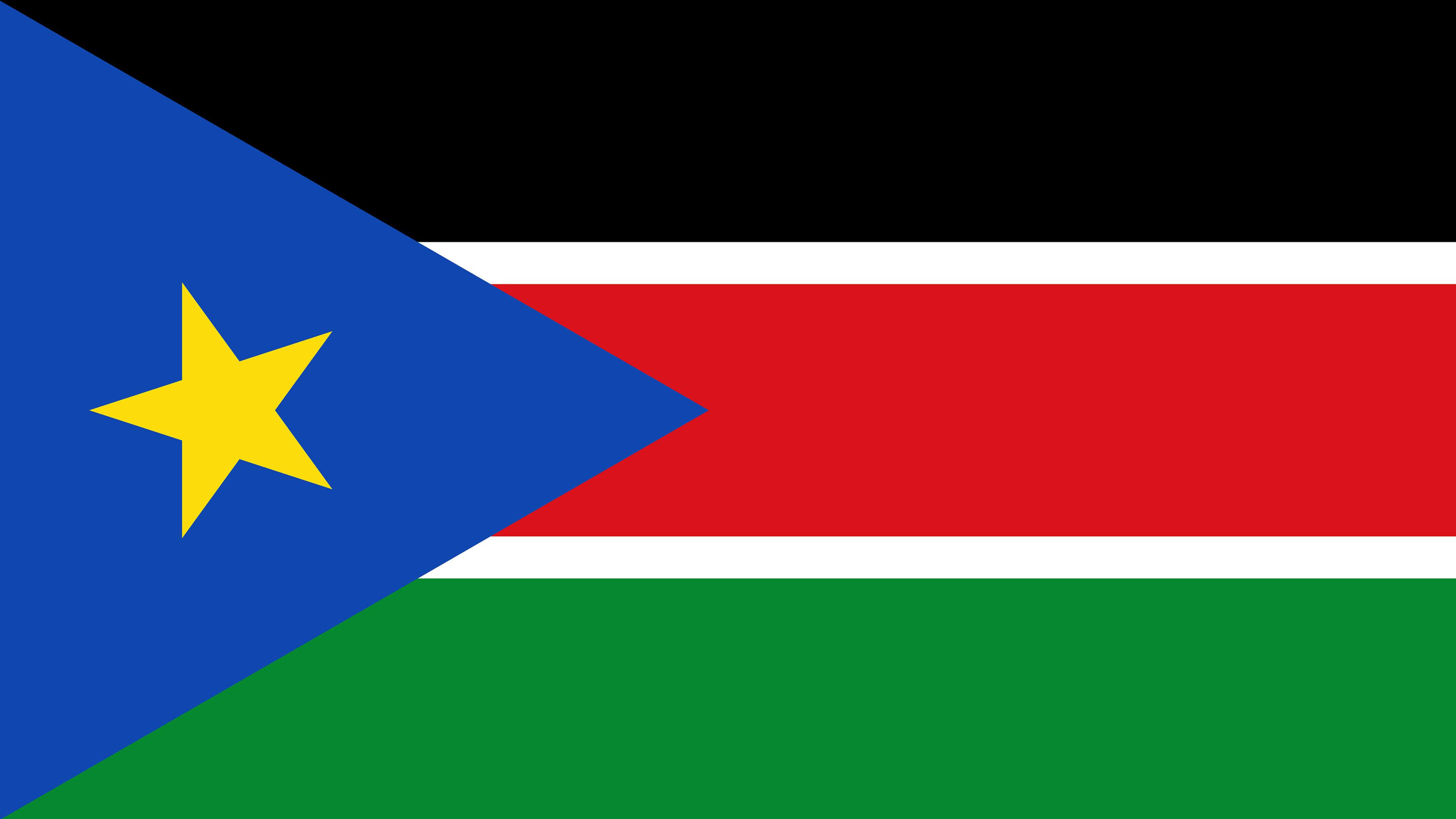 South Sudan Flag UHD 4K Wallpaper Pixelz 3840x2160