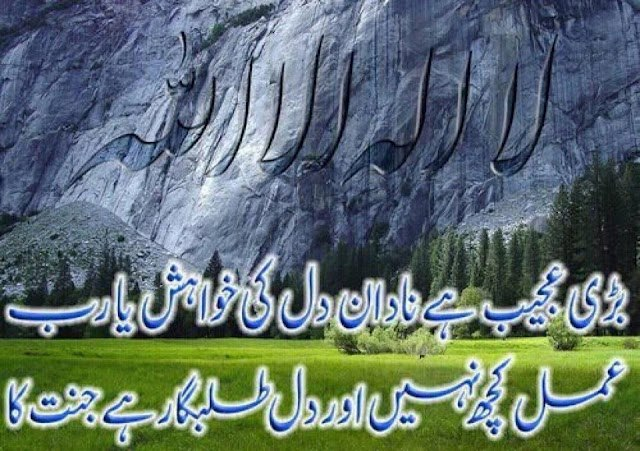 Islamic poetry wallpaper in urdu 640x451
