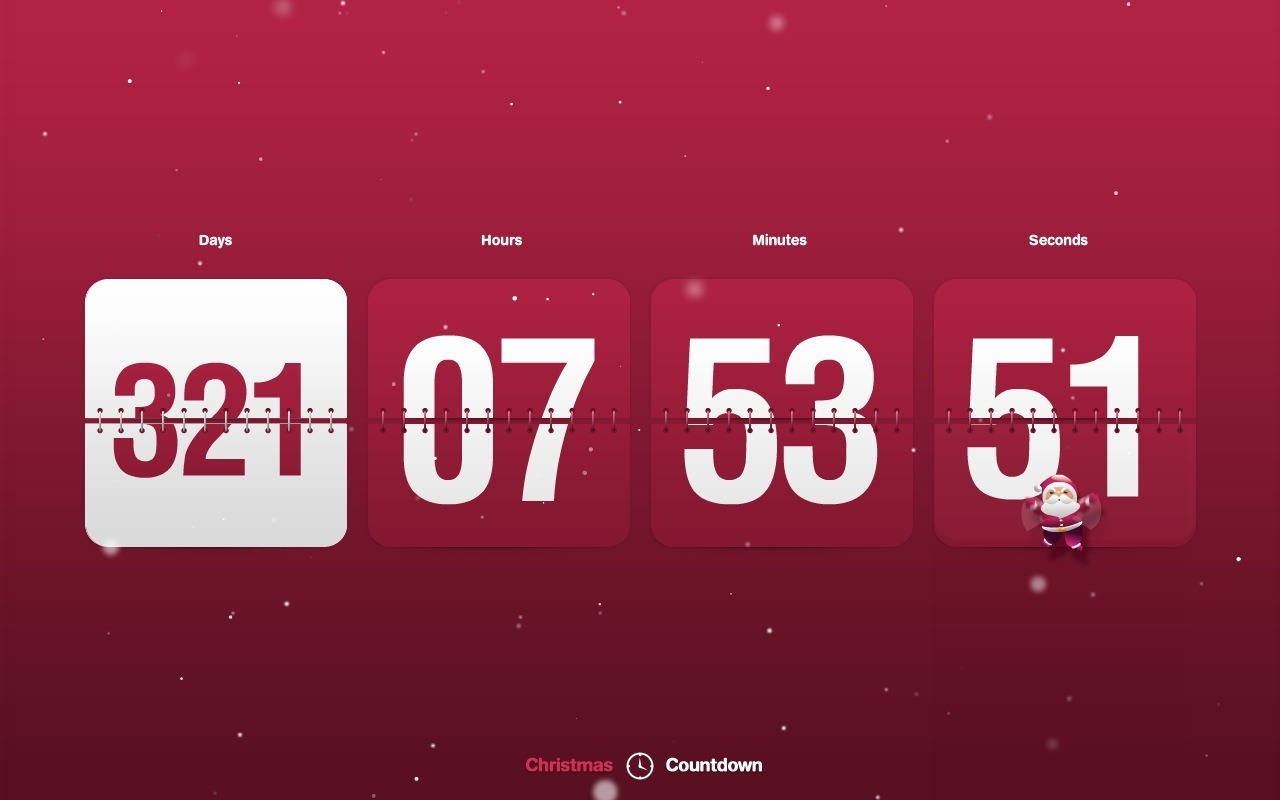 Wallpaper to decorate your desktop with stunning New Year Countdown 1280x800