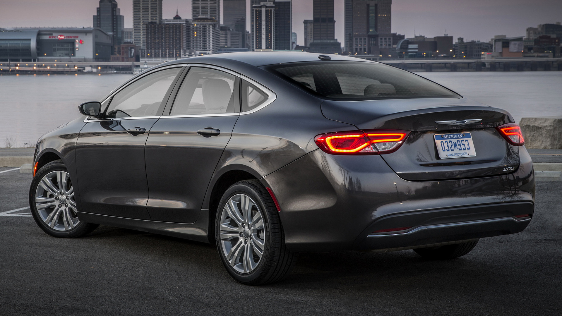 Chrysler 200 Limited 2015 Wallpapers and HD Images 1920x1080