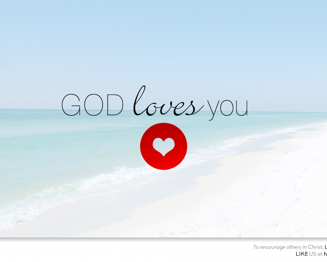 God loves you Christian Photographs Crossmap Christian Backgrounds 1280x1024