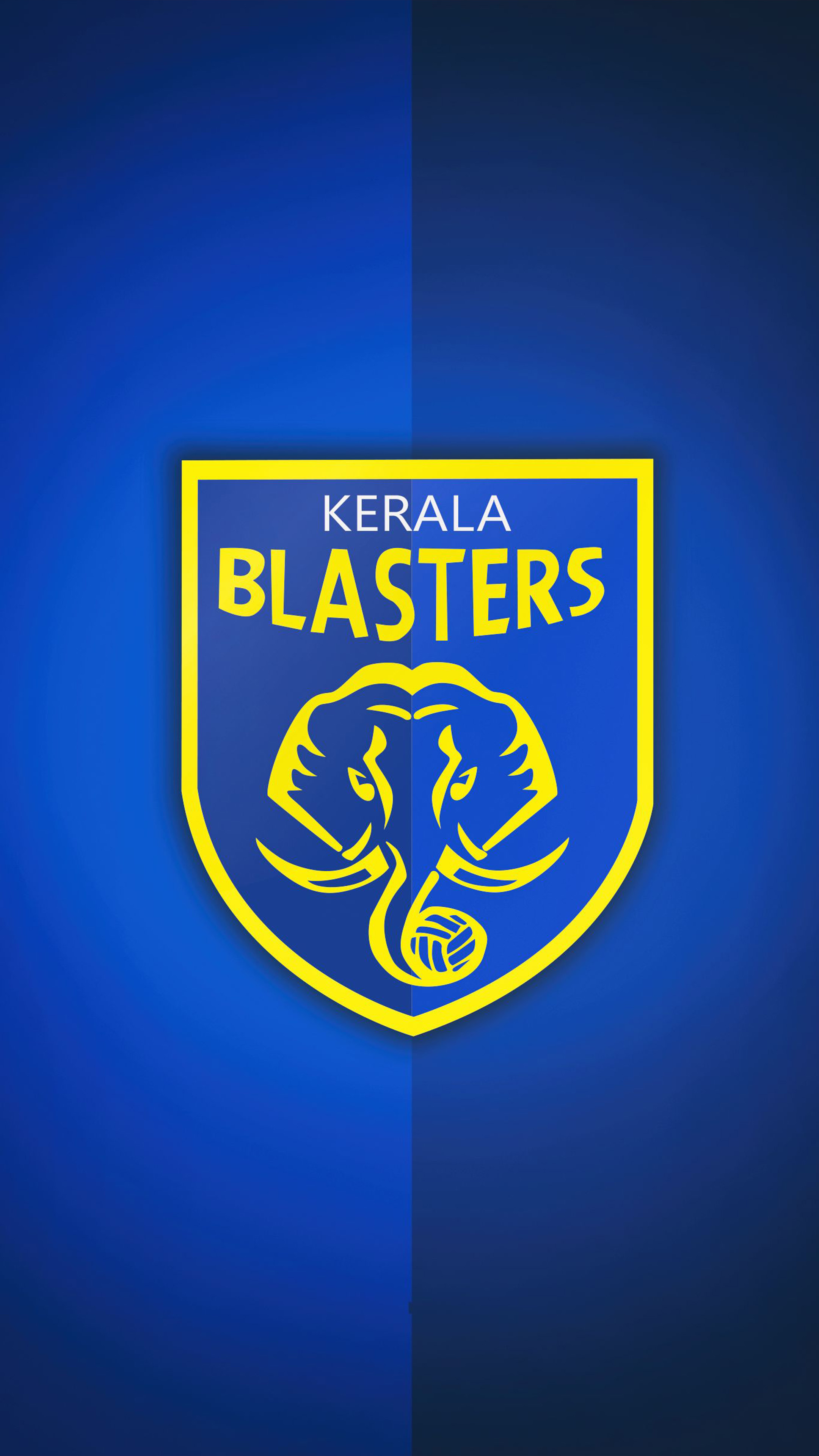 Download Kerala Blasters 2018 Pure 4K Ultra HD Mobile Wallpaper 2160x3840