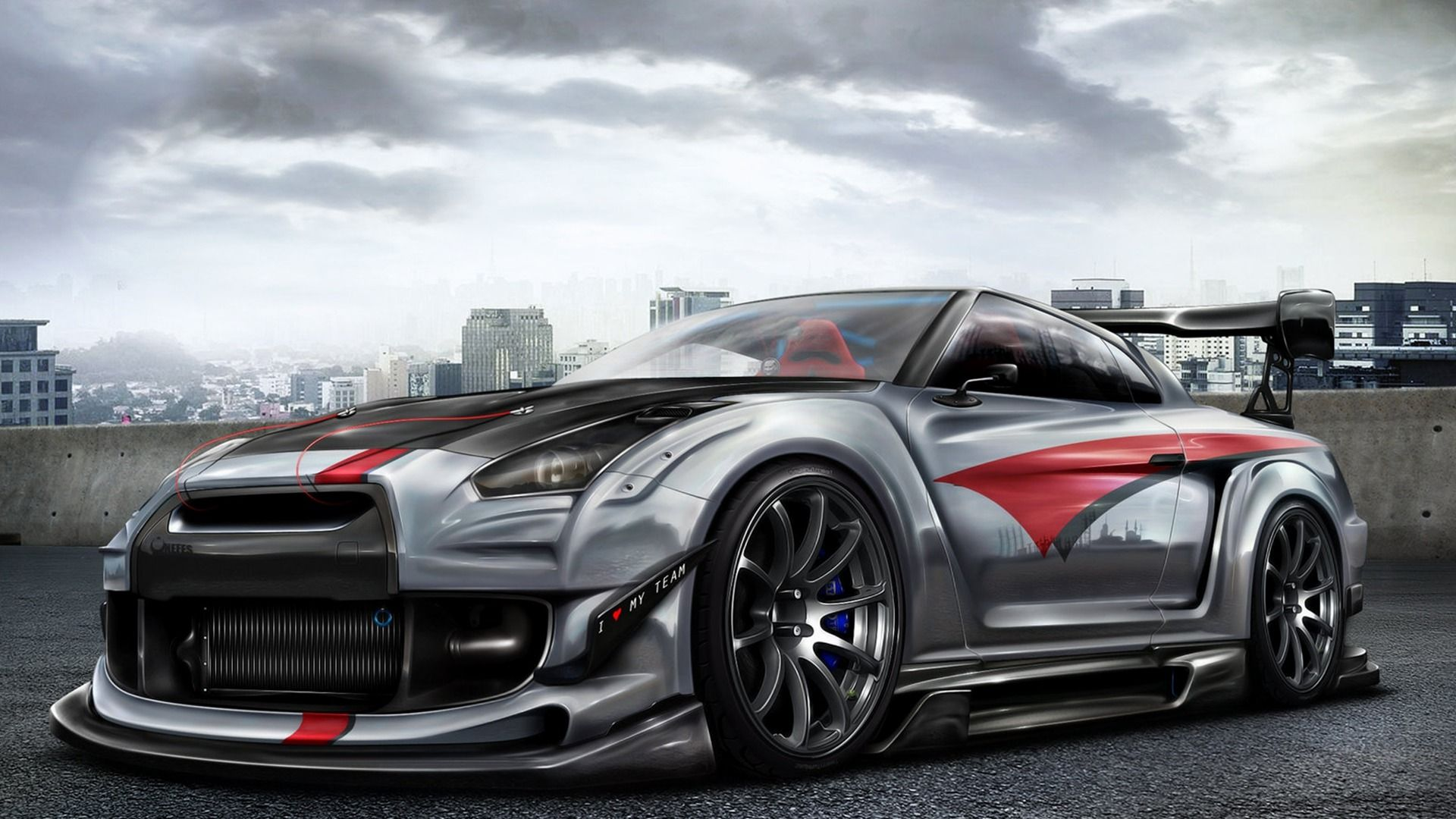 Nissan skyline r35 wallpaper   SF Wallpaper 1920x1080