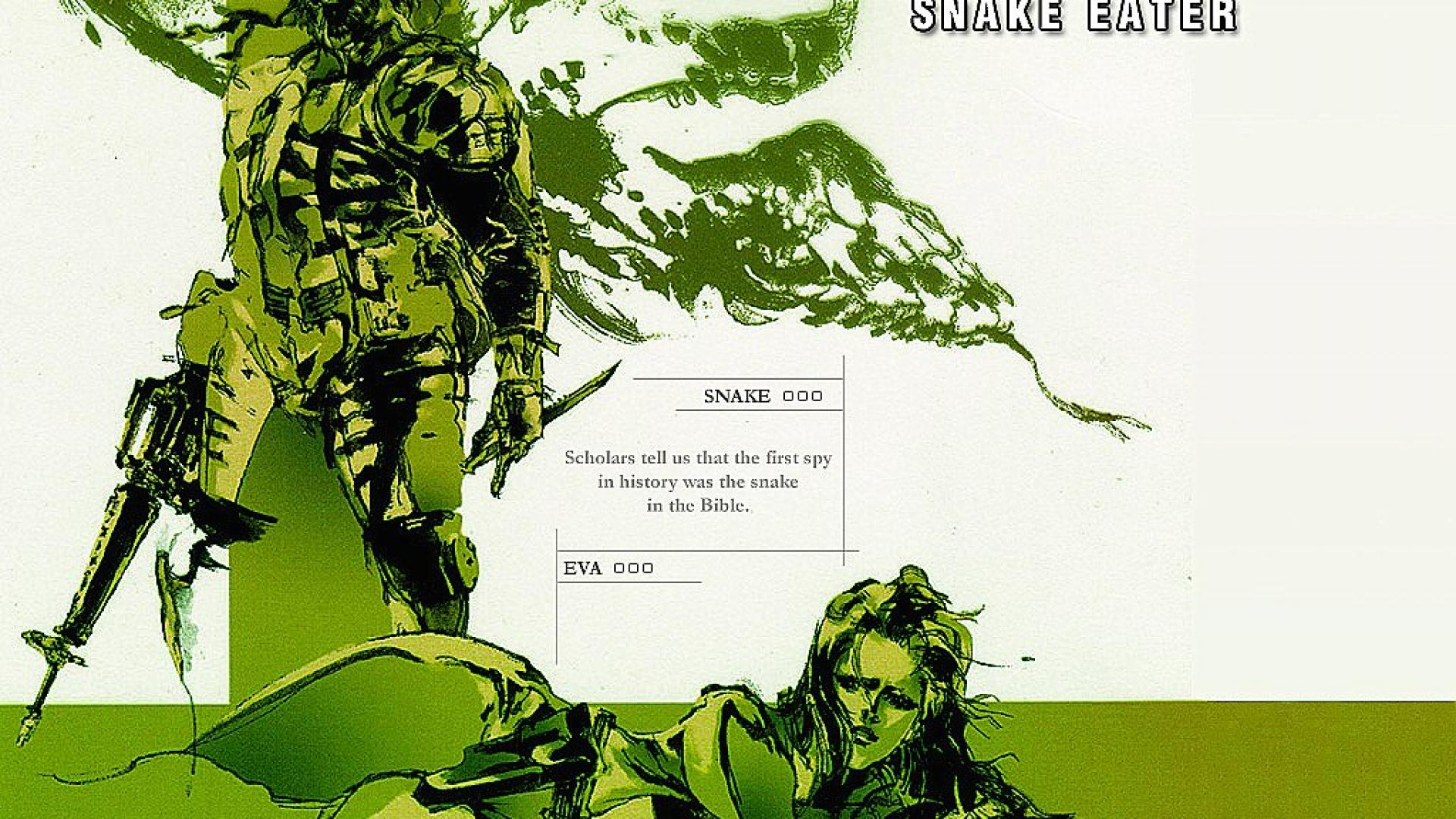 Free Download Snake Eater Metal Gear Solid Games Hd Wallpaper 9378