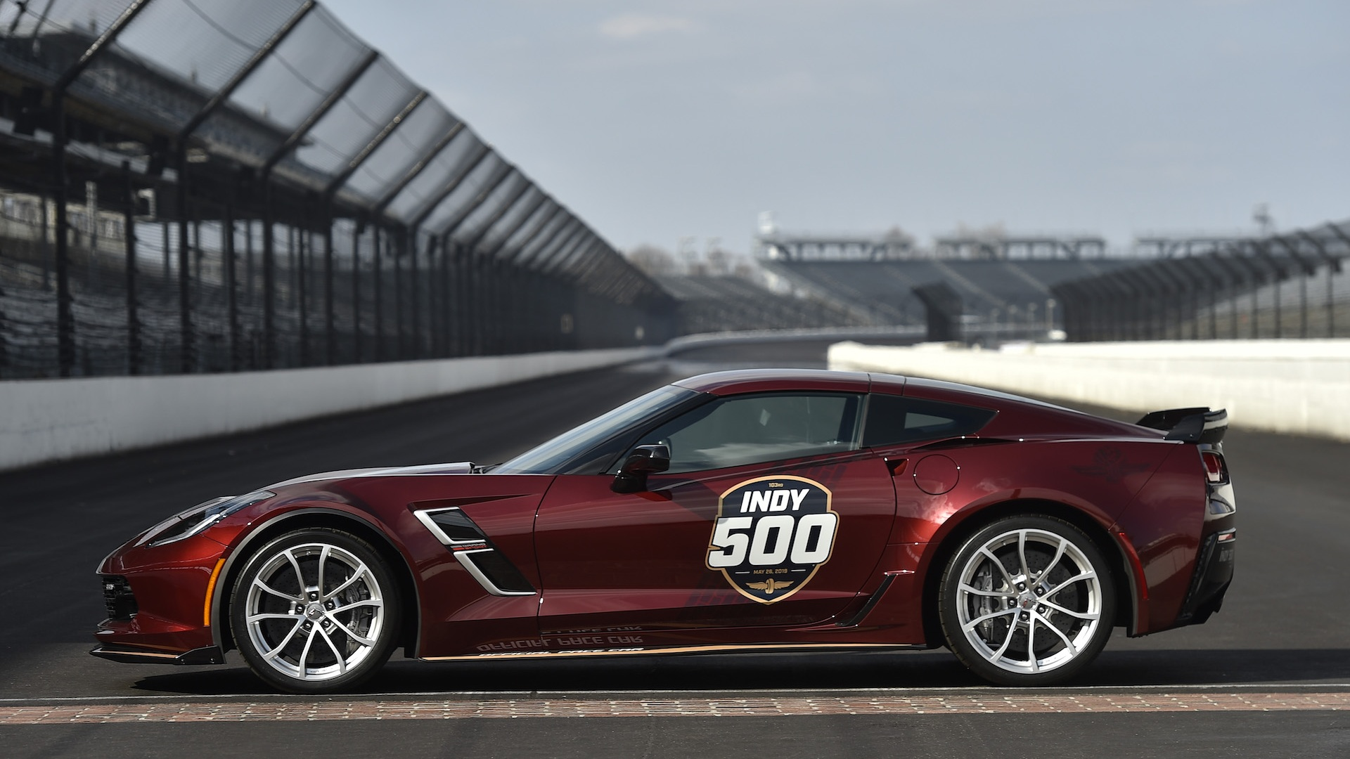 2019 Chevy Corvette Grand Sport to pace 103rd Indy 500 1920x1080