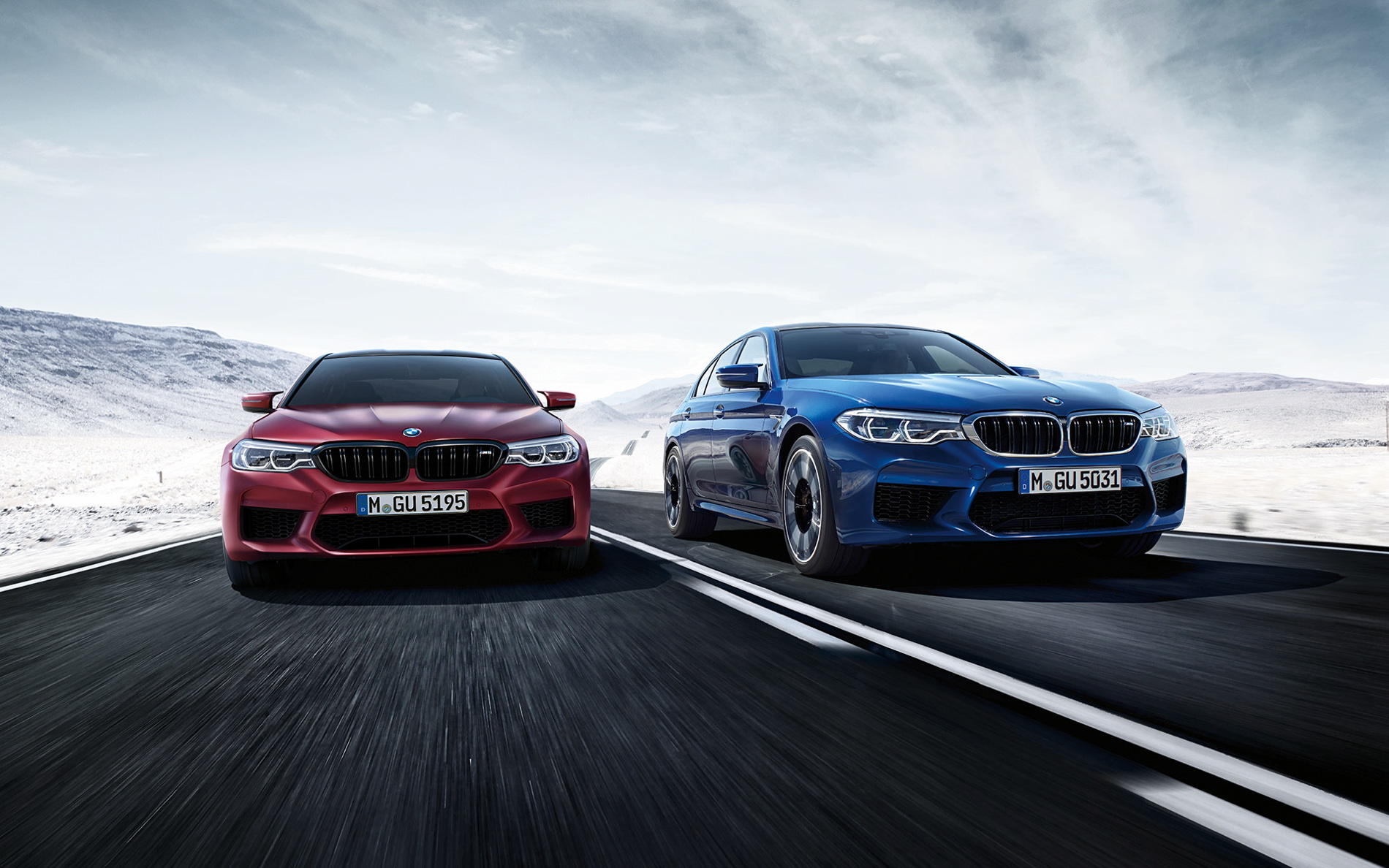 Download wallpapers of the new 2018 BMW F90 M5 1900x1188