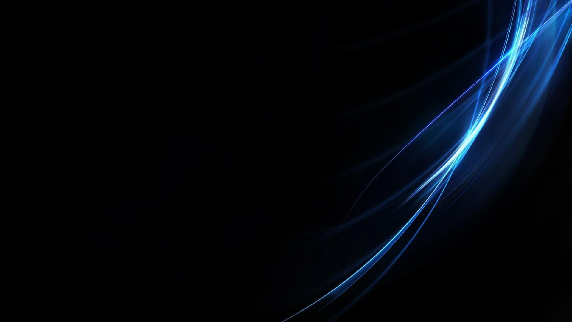 Blue abstract black wallpapers desktop 221826 | Black Background and ...