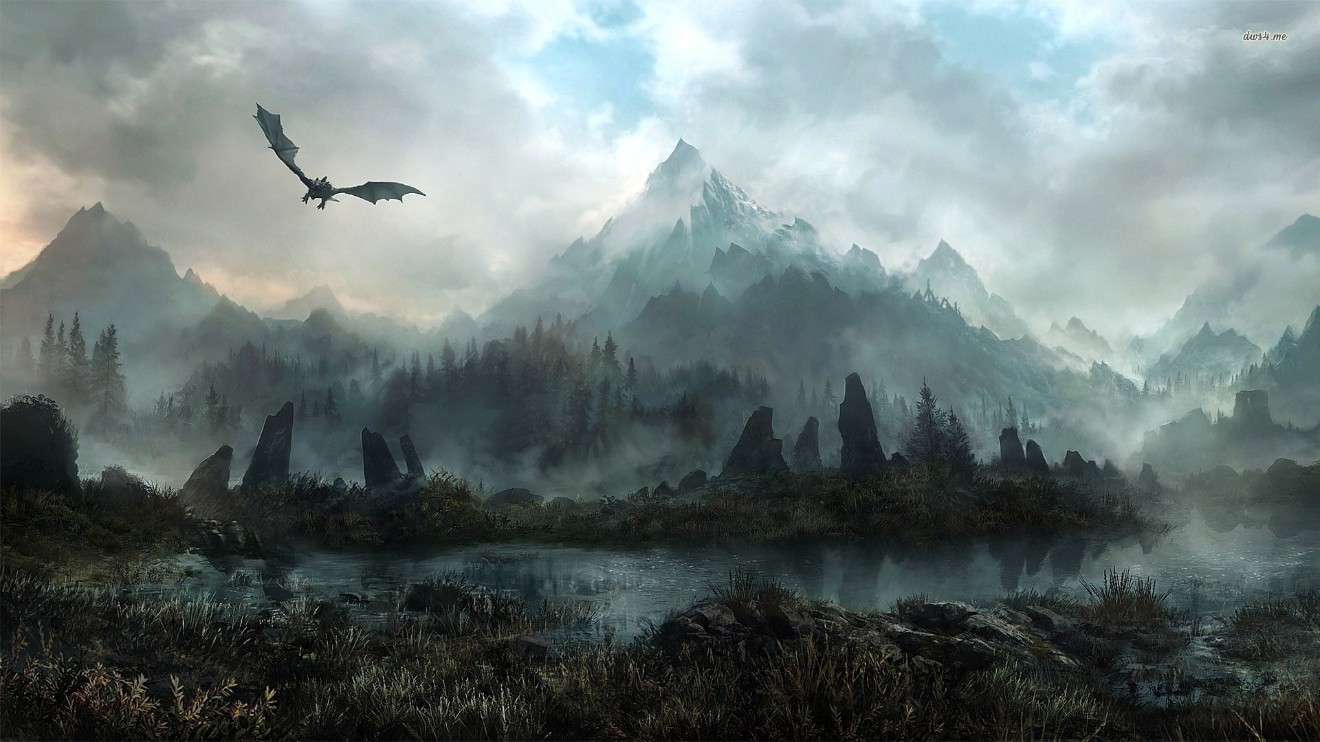 1920x1080px hd skyrim wallpaper - wallpapersafari