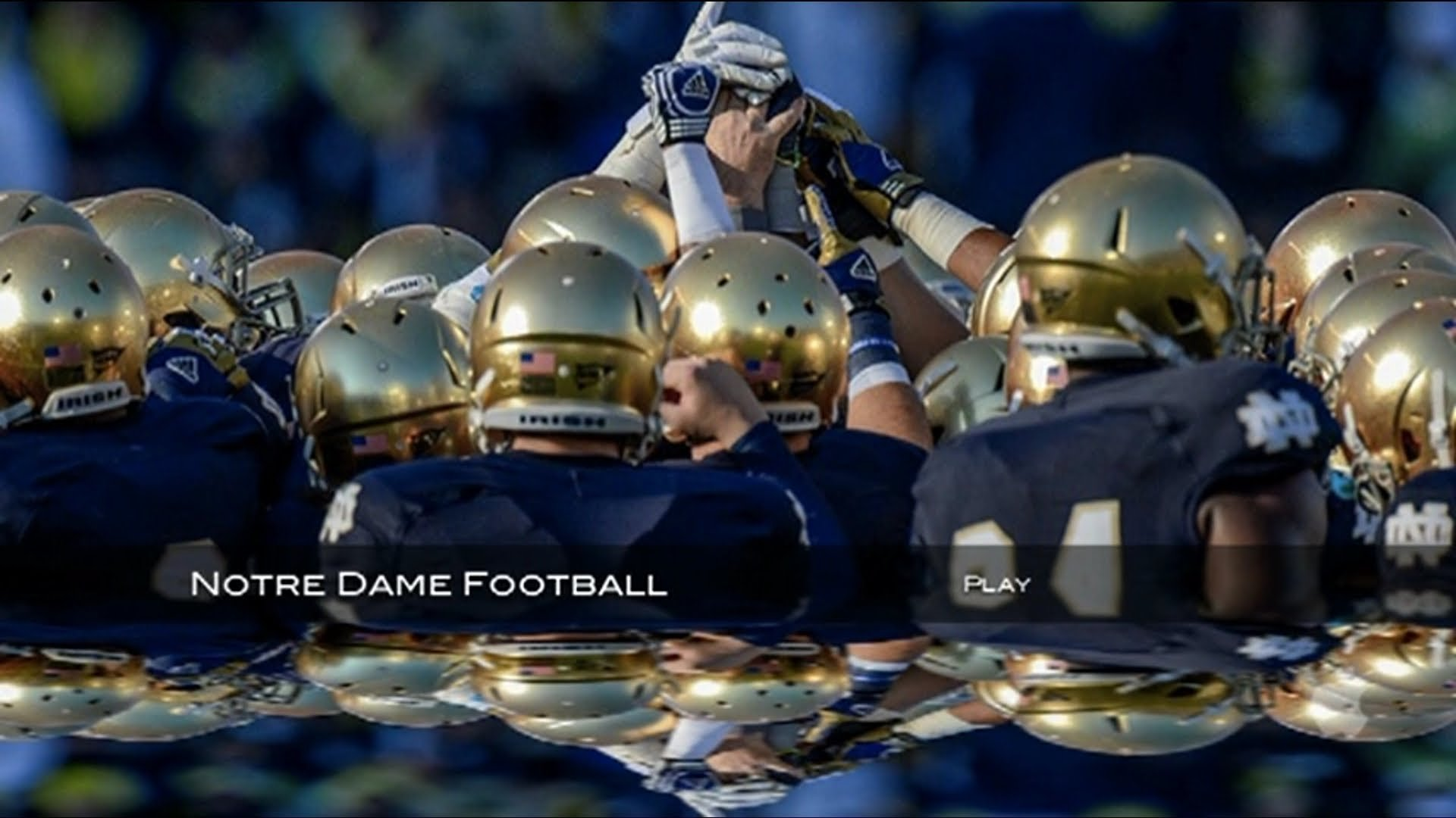 Notre dame football wallpaper 1280x1024 wallpapersafari - Notre dame football wallpaper ...