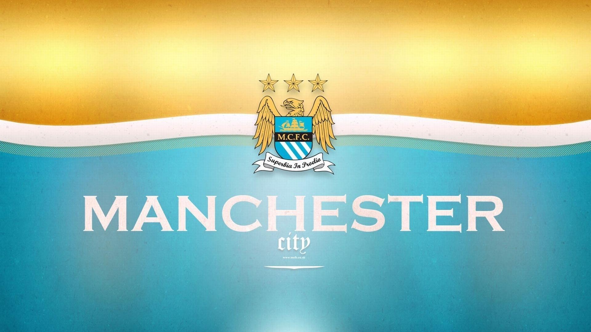 Manchester City Football Logo HD Wallpaper Manchester City Football 1920x1080