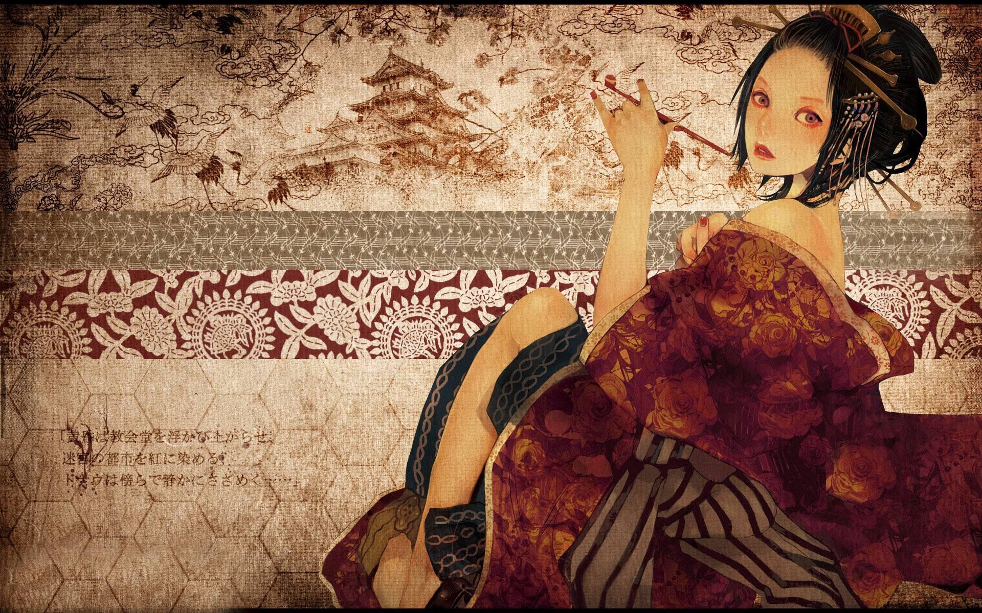 Geisha Wallpapers 1920x1200