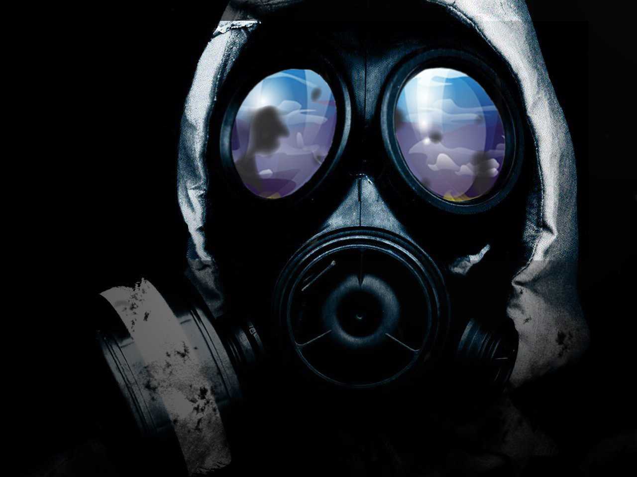 gas mask wallpaper hd - wallpapersafari