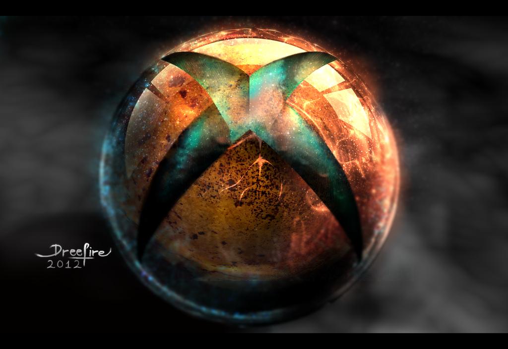 Xbox 720 Logo Wallpaper Xbox 720 logo blured version 1024x704